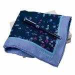 """Набор """"CPMR514"""": ручка шариковая автоматическая + платок"""