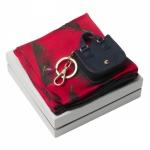 """Набор """"CPKL836"""": шёлковый платок и держатель для сумки"""