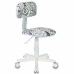 "Кресло детское ""Бюрократ CH-W201NX/PS"" кресло-раскраска"