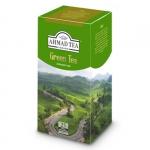 """Чай зелёный пакетированный """"Ahmad Tea"""" Green Tea"""
