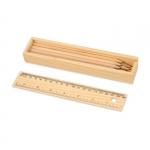 """Набор простых карандашей """"Дизайнер"""", 8 штук, с линейкой"""