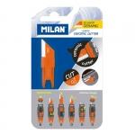 "Лезвие для ножа для бумаги ""Milan"", блистер"