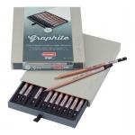 """Набор карандашей чернографитных """"Design graphite"""", 12 цветов"""