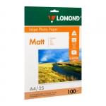Фотобумага Lomond матовая для струйной фотопечати