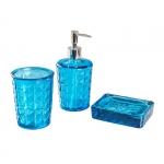 """Набор для ванной """"XMD2212.02 Bubbles"""", стекло"""