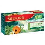 """Чай """"Milford"""" детокс лимонное сорго и крапива"""