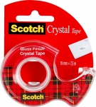 "Клейкая лента Scotch ""Crystal"" в диспенсере"