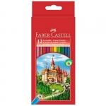 "Цветные карандаши ""Faber-Castell ECO""+точилка"