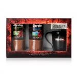 """Набор """"Jardin"""": кофе растворимый Colombia Medelin, Guatemala Atitlan, 95 г и керамическая кружка"""