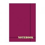 """Блокнот А5 """"Notebook однотонный"""", спираль сверху"""