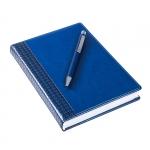 """Набор подарочный: ежедневник датированный A5 Lozanna BY и ручка шариковая автоматическая """"Straight Si"""""""