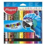 "Карандаши цветные ""Color' Peps Animal"""
