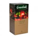 """Чай чёрный """"Greenfield Grand Fruit"""" с гибискусом, розмарином и кожурой плодов граната"""