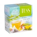 """Чай зеленый пакетированный """"Tess"""" Pina Colada"""