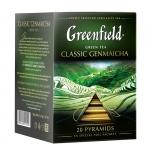 """Чай """"Greenfield"""" Classic Genmaicha в пирамидках"""