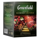 "Чай ""Greenfield"" Redberry Crumble в пирамидках"