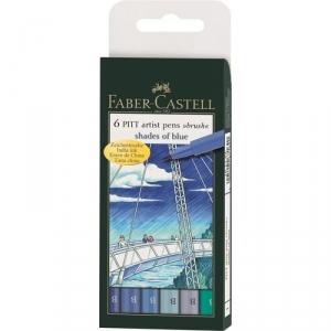 Faber-Castell Ручки капиллярные PITT artist pens