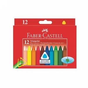 """Мелки восковые """"Faber-Castell"""" трехгранные"""