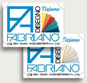 """Блок бумаги для пастели """"Tiziano"""" 24x33 см"""