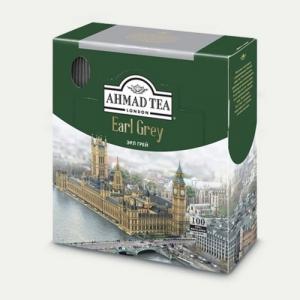 """Чай пакетированный черный """"Ahmad Tea"""" Earl Grey"""