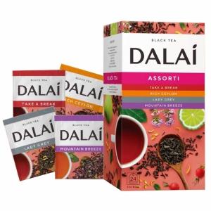 """Чай черный пакетированный """"Dalai"""""""