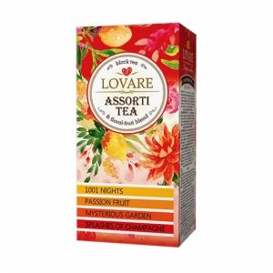 """Чай чёрный пакетированный """"Lovare"""" ассорти"""