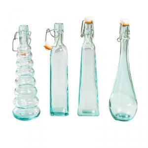 """Набор емкостей для масла """"XB5305.01 Present"""", 4 шт, стекло"""