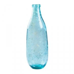 "Бутыль декоративная ""5981F1009 Montana"", стекло, прозрачный синий"